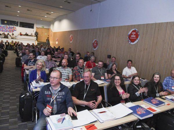 """Rakennusliiton 24. liittokokous avattu – """"Rakentajat eivät ole yksin"""" -Artikkelikuva"""