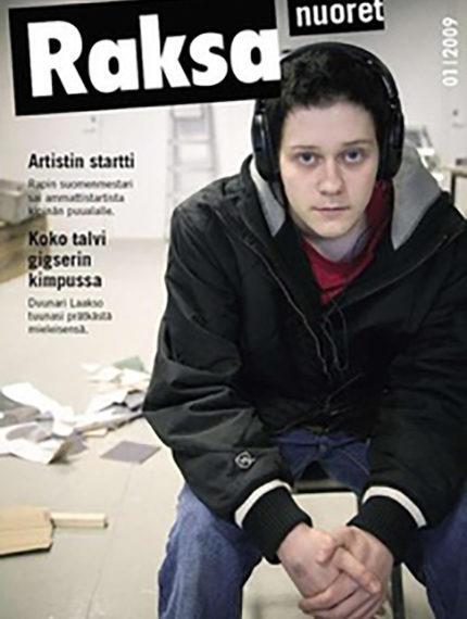 1/2009: Raksanuoret -lehden kansikuva