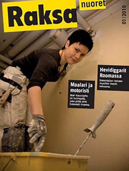1/2010: Raksanuoret -lehden kansikuva