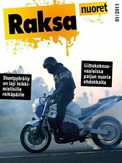 1/2011: Raksanuoret -lehden kansikuva