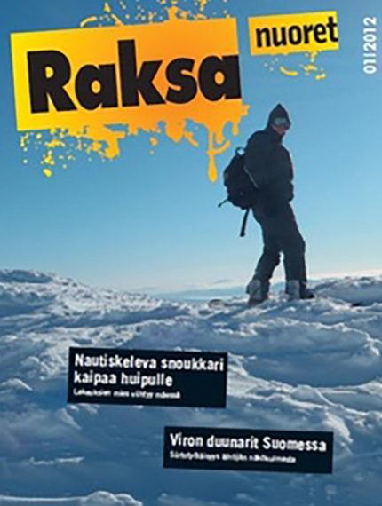 1/2012: Raksanuoret -lehden kansikuva