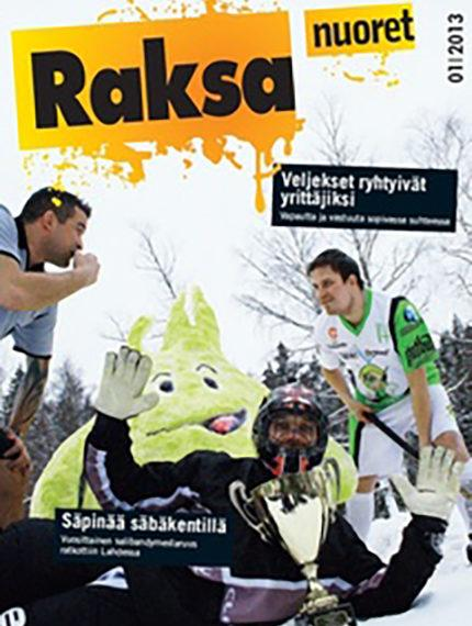 1/2013: Raksanuoret -lehden kansikuva