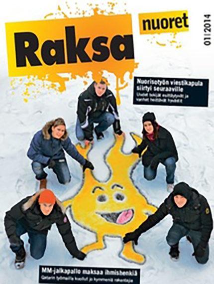 1/2014: Raksanuoret -lehden kansikuva