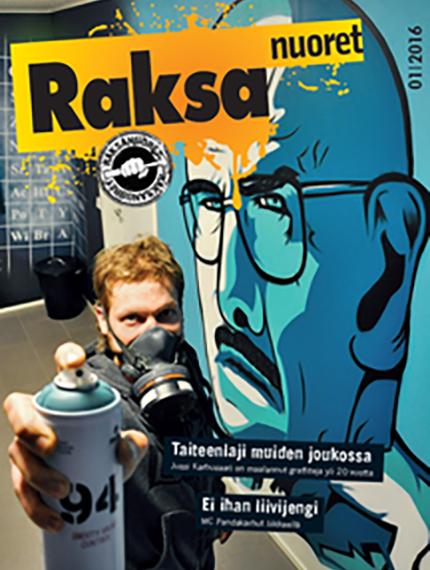 1/2016: Raksanuoret -lehden kansikuva