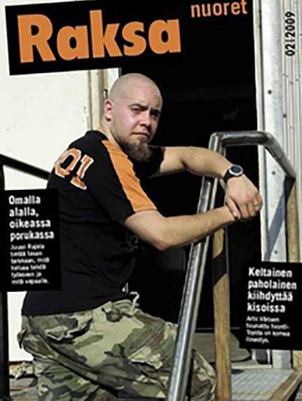 2/2009: Raksanuoret -lehden kansikuva