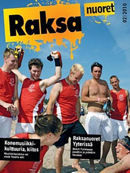 2/2010: Raksanuoret -lehden kansikuva