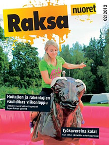 2/2012: Raksanuoret -lehden kansikuva