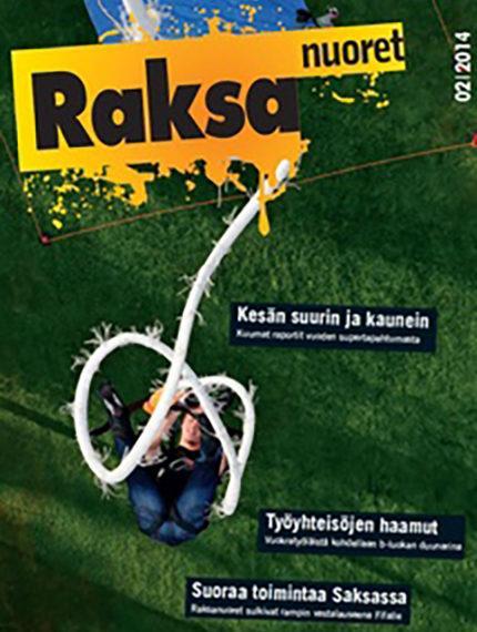 2/2014: Raksanuoret -lehden kansikuva