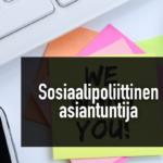 Rakennusliitto hakee sosiaalipoliittista asiantuntijaa Artikkelikuva