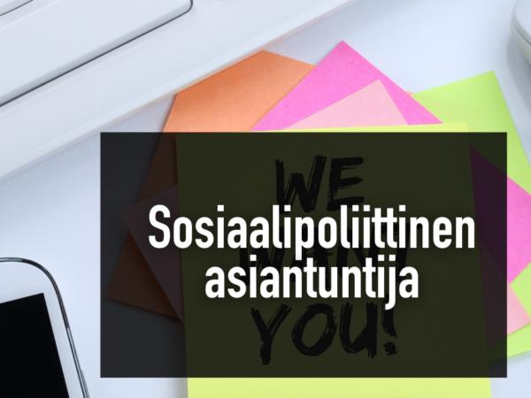 Rakennusliitto hakee sosiaalipoliittista asiantuntijaa -Artikkelikuva