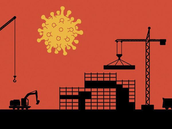 10 prosenttia rakentajista altistunut töissä koronalle -Artikkelikuva